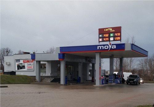 Nowe stacje paliw