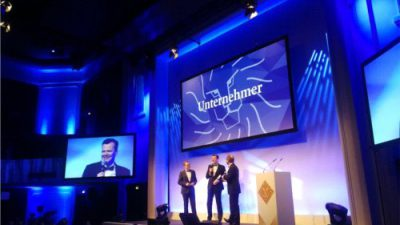 Ewald Raben przedsiębiorcą roku w Niemczech