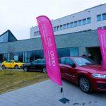 Podczas konferencji można było testować Audi.