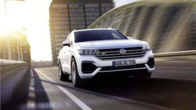 Volkswagen Touareg na rynku