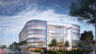 DSV będzie mieć własny biurowiec w Warszawie