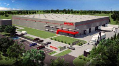 MPM agd buduje centrum dystrybucji AGD w Żyrardowie.
