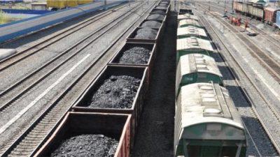 Wzrosty w przewozie kruszywa i węgla koleją