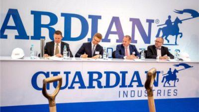 Kluczowy etap budowy fabryki Guardian Glass w Częstochowie
