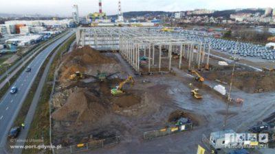 Port Gdynia – powstaje pierwszy magazyn wysokiego składowania
