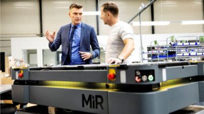 Mobile Industrial Robots potraja sprzedaż drugi rok z rzędu