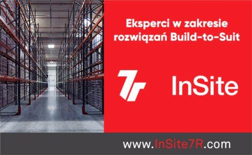 Współpraca 7R i InSite Real Estate w zakresie projektów BTS