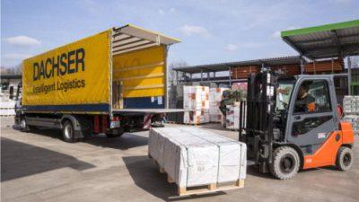 Dachser: wzrost eksportu do sieci DIY