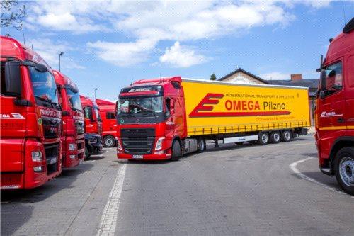 Omega Pilzno planuje transport z PTV Map&Guide