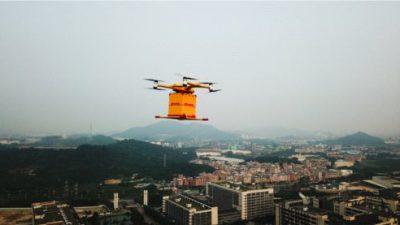 DHL Express i drony miejskie w Chinach