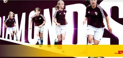 Młode piłkarki ze wsparciem DHL Supply Chain