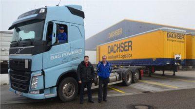 Dachser testuje ciężarówki na LNG