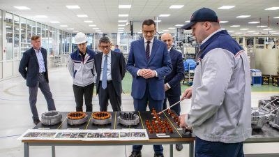 Toyota w Wałbrzychu rozpocznie produkcję kolejnej przekładni e-CVT