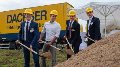 Nowy oddział Dachser na północy Niemiec
