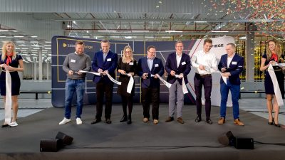 Centrum logistyczne Zalando Lounge w Olsztynku oficjalnie otwarte