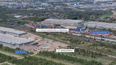 Powstanie drugi magazyn City Logistics w Łodzi