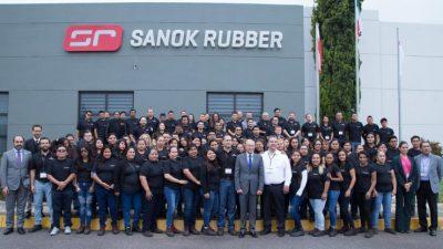 Sanok Rubber Company otworzyło fabrykę w Meksyku