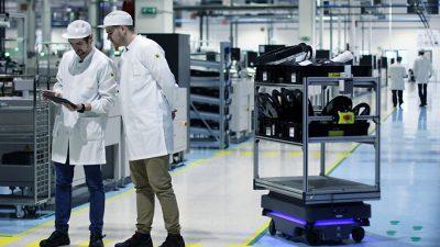 AGV w fabrykach