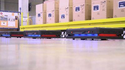 Autonomiczne roboty w DB Schenker