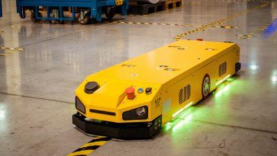 Robotyka mobilna a wsparcie zadań logistycznych w przemyśle
