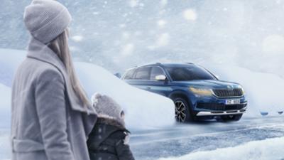 Jak zachować bezpieczeństwo podczas zimowej jazdy