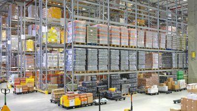 System magazynowy dla operatora logistycznego