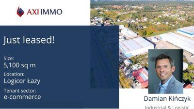 5000 mkw. dla obuwniczego e-commerce w parku Logicor Łazy