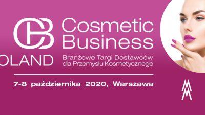 Dostawcy dla przemysłu kosmetycznego na targach CosmeticBusiness Poland