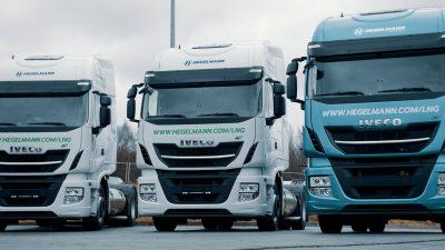 Inwestycja w ciężarówki na LNG