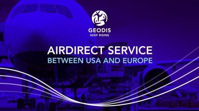 GEODIS – bezpośrednie połączenie lotnicze Europa – USA