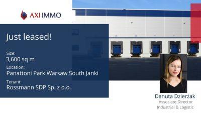 Rossmann otwiera regionalny hub dystrybucyjny w Panattoni Park Warsaw South Janki