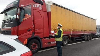 Wydłużono czas pracy kierowców zawodowych