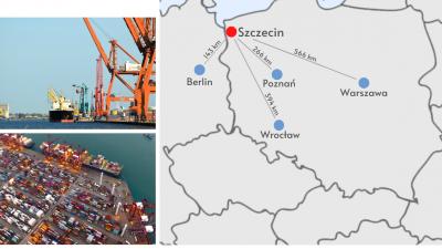 Fracht w Szczecinie