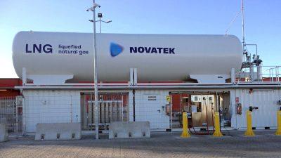 Stacja tankowania LNG w Poczdamie