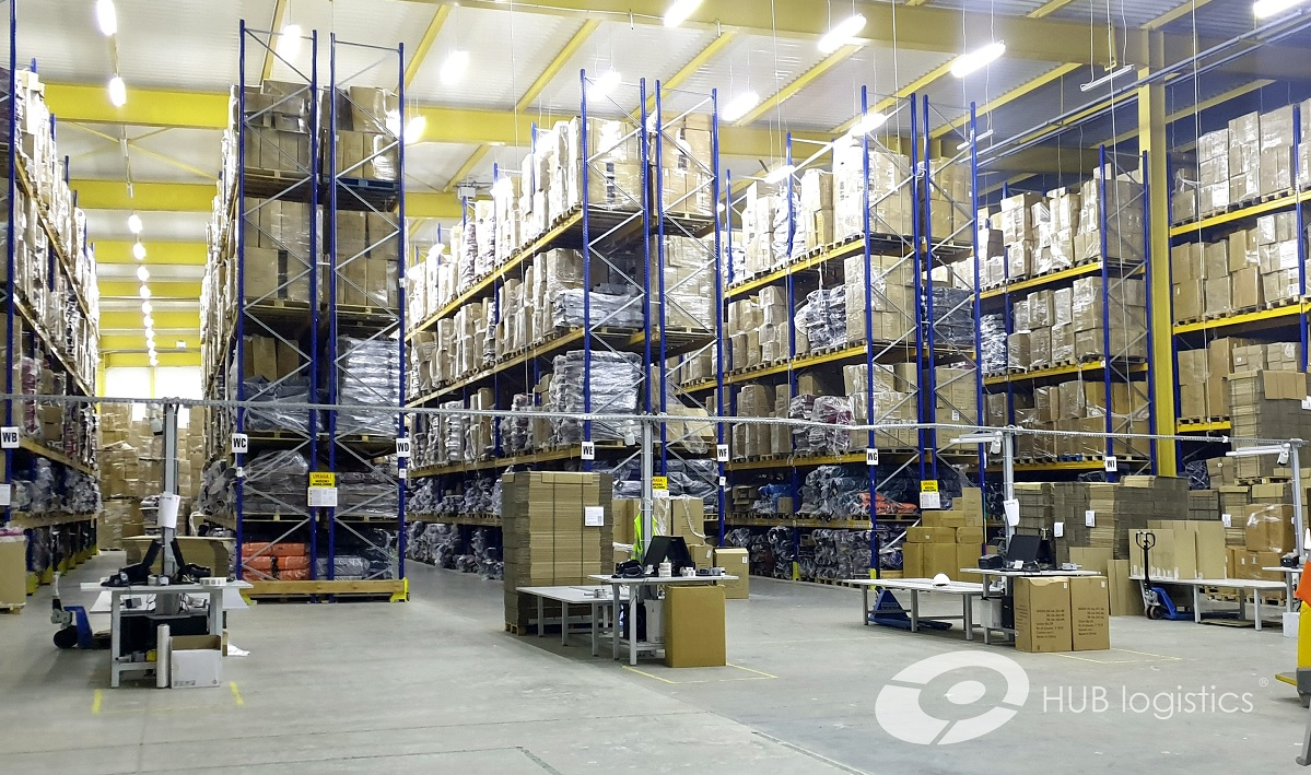 HUB logistics uruchamia krótkoterminowe magazynowanie w centrum logistycznym pod Warszawą