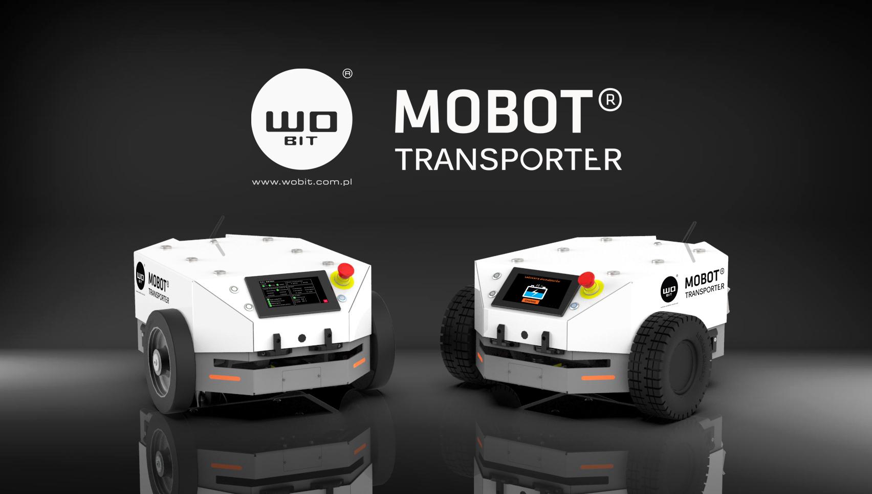WObit wprowadza na rynek MOBOT® TRANSPORTER – nowoczesny transport mobilny