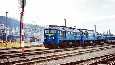 Przewozy towarowe koleją w 2019