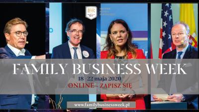 Family Business Week – dylematy rodzin biznesowych podczas pandemii Covid-19
