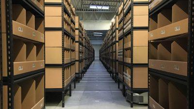 57 robotów, 15 000 przesyłek dziennie