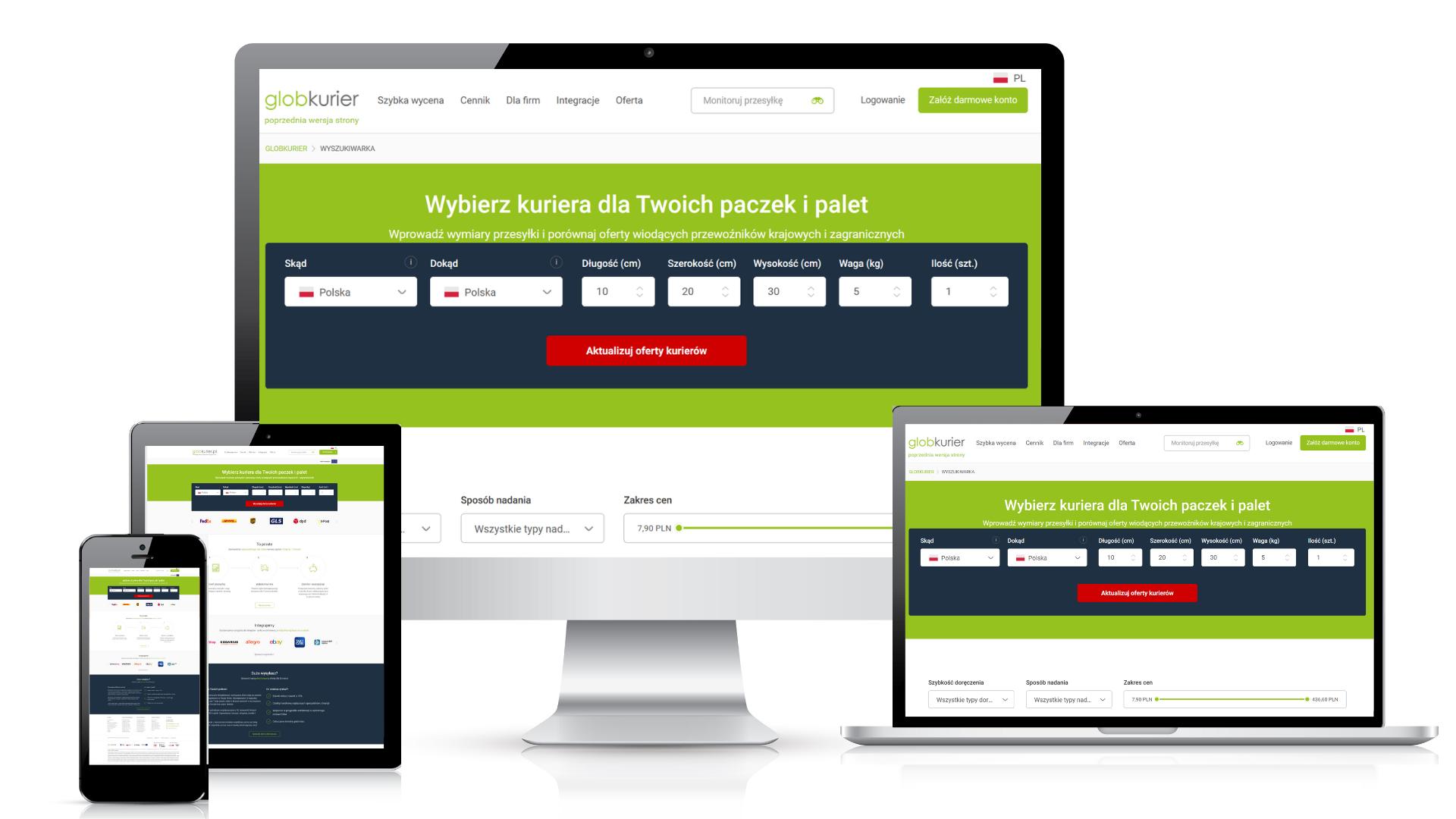 GlobKurier.pl wprowadził usługę niezbędną dla e-commerce