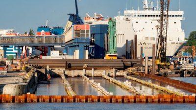 Przebudowa terminalu promowego w Świnoujściu