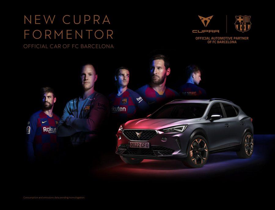 Nowe auto flotowe FC Barcelona