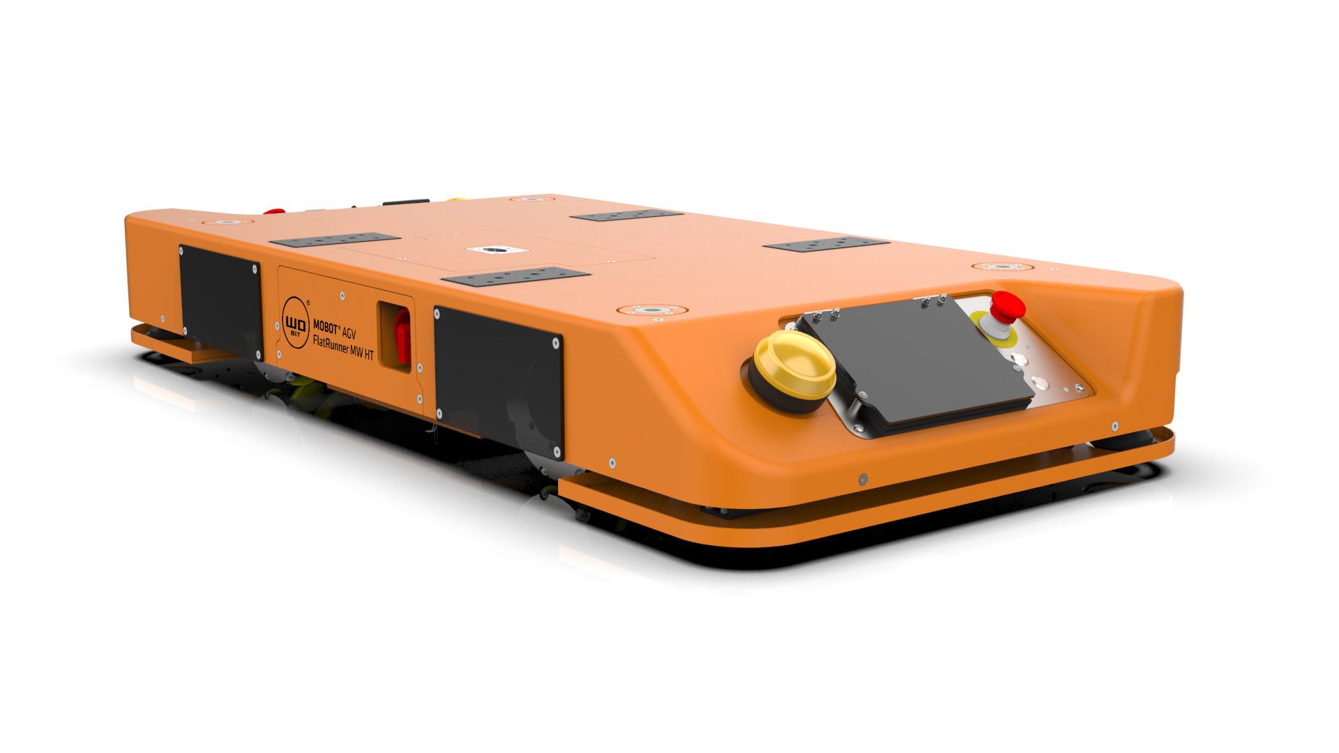 Efektywny transport ciężkich ładunków z nowym robotem mobilnym MOBOT® FlatRunner MW HT