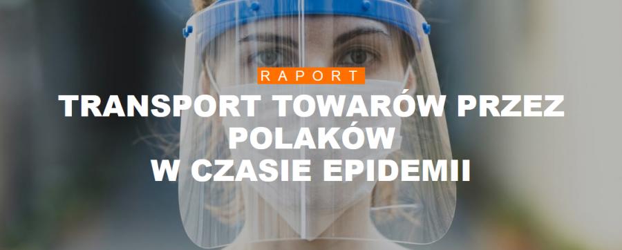 Co Polacy transportowali w czasie epidemii?