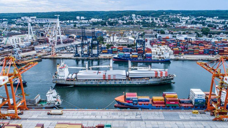 Nietypowe ładunki w Porcie Gdynia