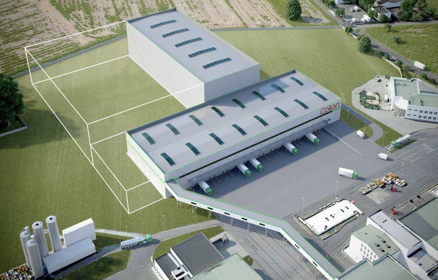 Colian rozpoczyna budowę nowego magazynu w Opatówku