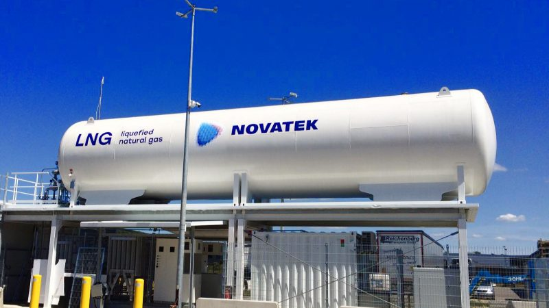 LNG Novatek w Niemczech