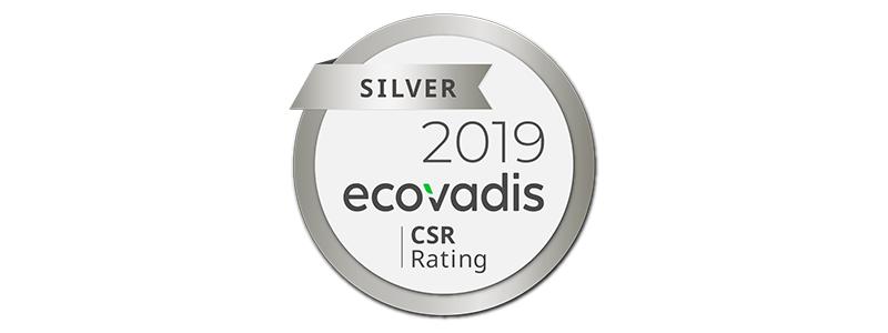 XPO Logistics otrzymał srebrny status przyznany przez EcoVadis w Europie