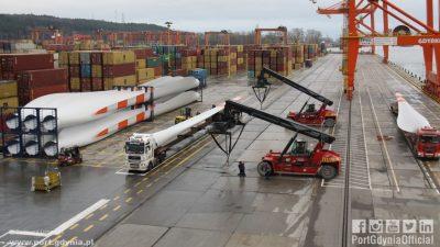Port Gdynia w WindEurope
