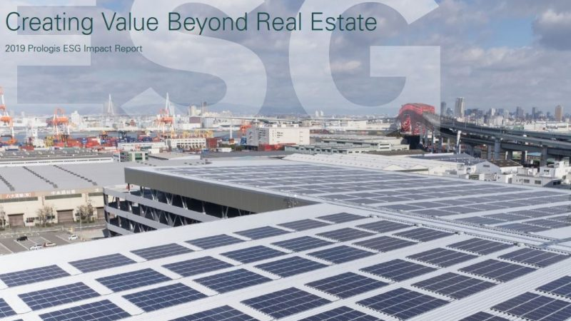 Prologis podnosi poprzeczkę. Raport ESG 2019